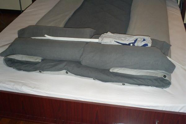Zidni krevet Mahagoni