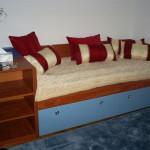 Natkasna i krevet sa fiokama od medijapana