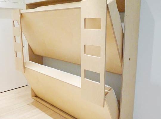 Zidni krevet na sprat